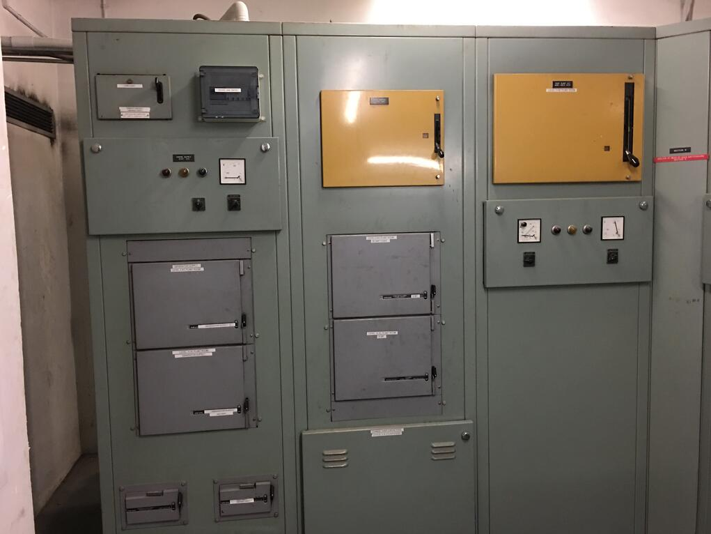 Aging Main Electrical Switchboards